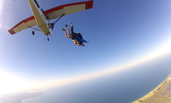freefall over Cape Cod